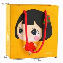 Multi-Style paper toy bag packaging,cute gift bag