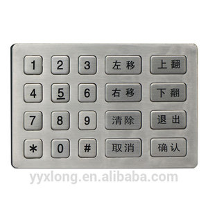 New design numeric keypad digital keyboard mini numeric colorful keypad keypad immobilizer