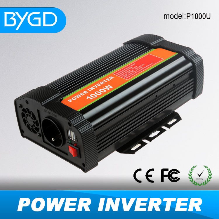 <strong>P</strong> series 800W and <strong>1000W</strong> solar power inverter with USB for home appliance using