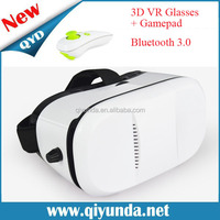 Hot interactive Plastic VR 3D Glasse for 3d movies and 3d games