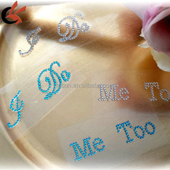 I Do Shoe Stickers for the Bride & Me Too Stickers for the Groom