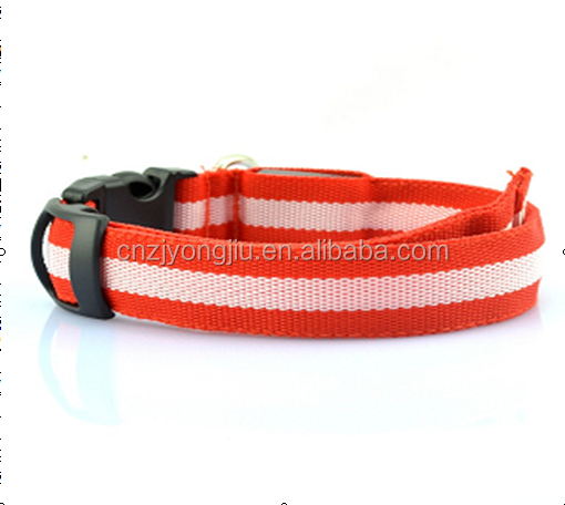 Reflective Waterproof TPU Cat Dog Pet Collars for Outdoor Active Running Hunting