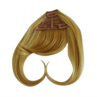 Unprocessed Virgin Brazilian Hair Remy Hair Bangs for Black Women