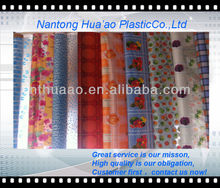 pvc printed tablecloth ,plastic sheeting table covers,printing pvc shower curtain