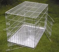 wholesale custom made cheap price stainless steel wire mesh dog cage