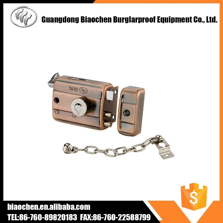 Top Security Night Latch Legge Locks with chain