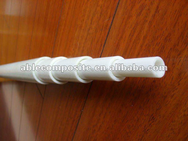 Telescoping fiberglass tube