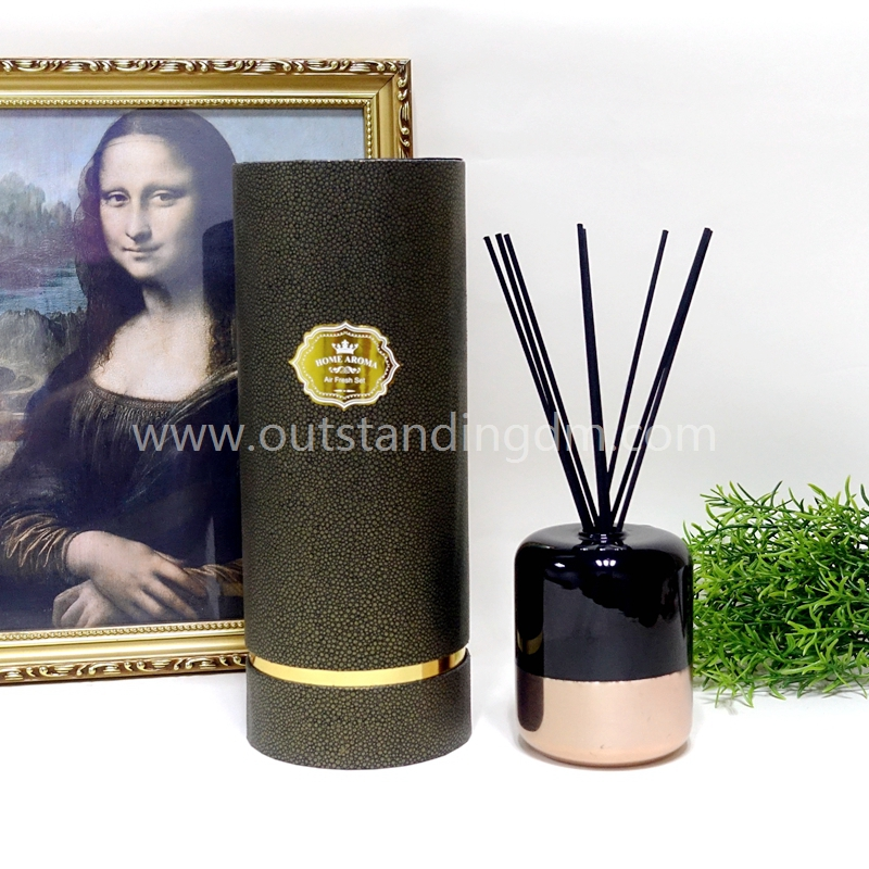 Aroma Reed Diffuser With Glass Bottle For Home Decoration