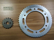 South America NXR BROS 125 Motorcycle Chain and Sprocket Kits