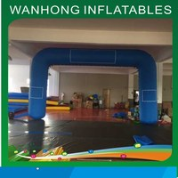 2015 WANHONG inflatable archway,cheap inflatable arch