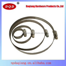 China New American Stainless Steel Hose Clamp