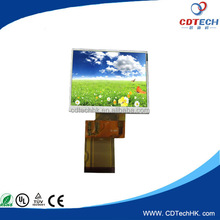 sunlight readable 3.5 inch transflective 320x480 dots tft lcd module
