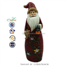 resin santa claus item 2014 christmas gift