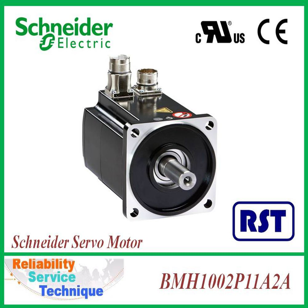 BMH1002P11A2A 100MM IP54 KEY ENC SINGLE128 ANG SQUARE D Schneider AC Servo Motor