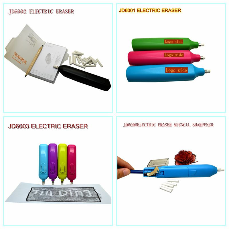 20pcs Free Refills New Design Stationery Best Electric Eraser For Colored Pencil