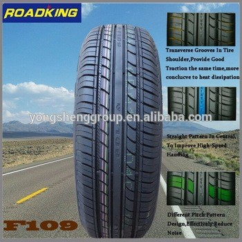 general tire dealers from car tire manufacturer /shandong Yongshneg tyre factory
