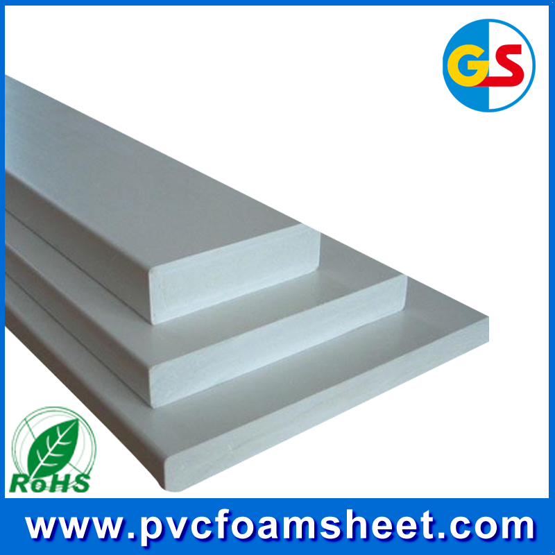 rigid pvc foam board 12mm /hot size 1.22m*2.44m/biggest manufacturer in Shanghai