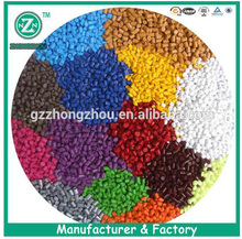 China plastic polyethylene black white red green yellow color master batches