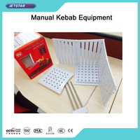 CE Approved Manual Meat Mini Kebab Equipment For BBQ