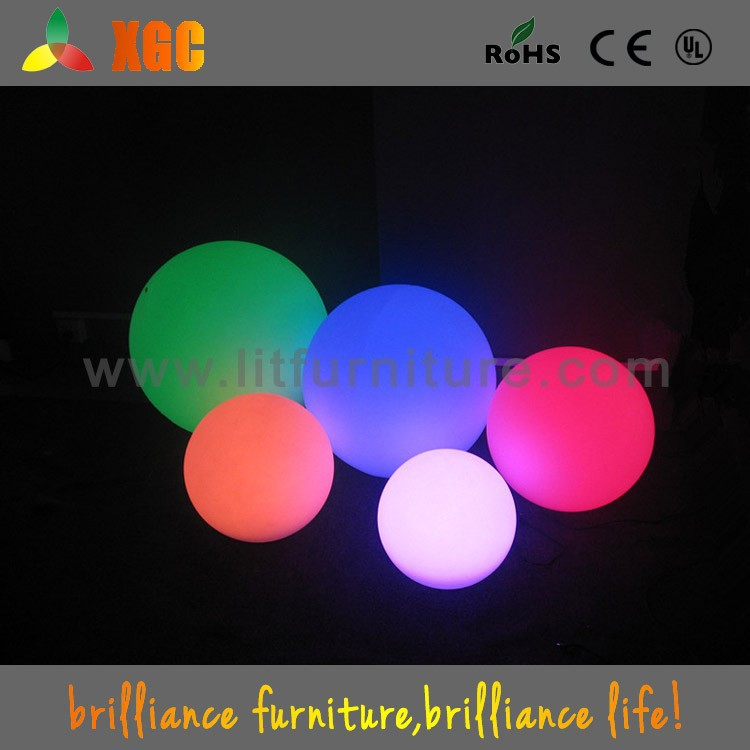 Color changing led ball Mini RGB LED ball glow in the dark