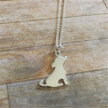 New Fashion Lovely puppy necklace Lively little dog necklace for the pets lovers for the Dog Zodiac