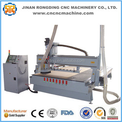 Linear ATC cnc work center/auto tool changing wood cnc router