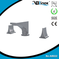 ABLinox good quality stainless steel bathroom wall mounted faucet, waterfall faucet