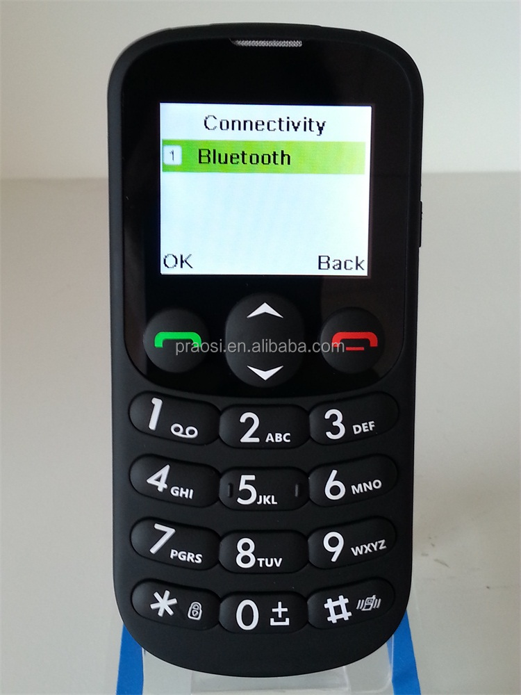 simple dual sim elderly handphone with sos key large keyboard
