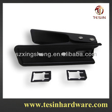 Hottest microsim card to nanosim card cutter with gift box packing for 2 years quality guarantee