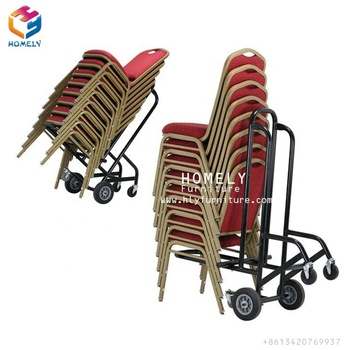 Foldable Stainless Steel chair trolley