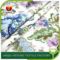 Best Selling Products Printed Silk Cotton Voile Sheet Fabric Wholesale