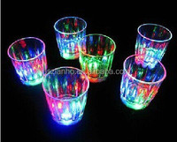 Mini LED Colorful Bar Pub Beer Wine Cup Party Flashing Light Glass