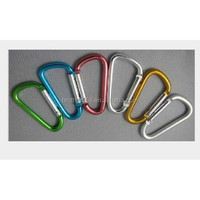 customized metal climbing carabiner hook key chain for promotional gift item