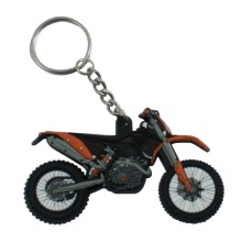 Cheap Keyring Wholesale Motorcycle Shaped PVC Keychain