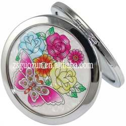 Best girls compact mirror, metal cosmetic mirror, hand mirror,makeup mirror professional