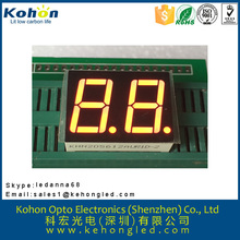 High brightness two digital number LED display board in shenzhen factory