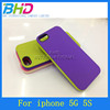 Double color TPU case cover for iphone 5