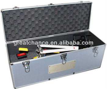 ALUMINUM CARRYING CASE FOR ALL 450 CLASS RC HELICOPTERS