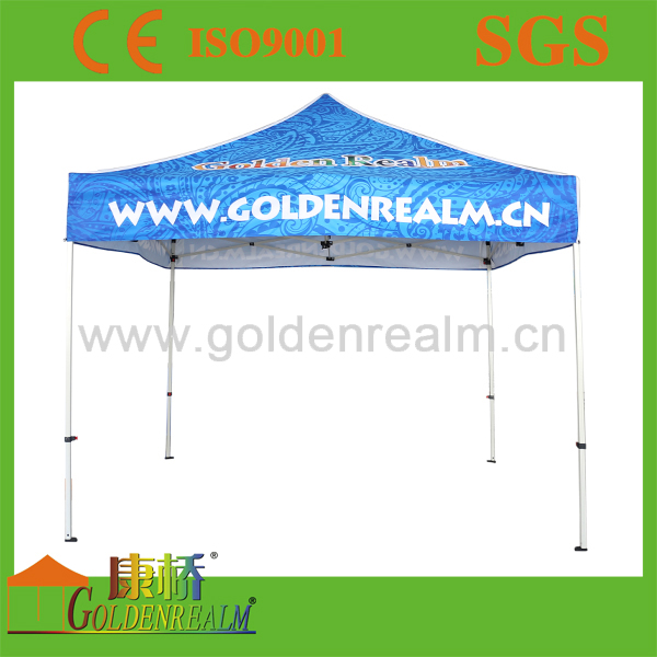 Flea market customer printing light weight tent wholesale