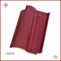 Big Sale Fashion Red color waterproofing stone coated metal roof tile