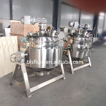 Small Tomato Paste Heating Making Processing Machine with blender