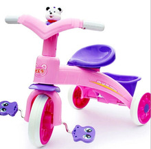 Factory direct sale kids bike baby stroller babay plastic cheap bike tricycle