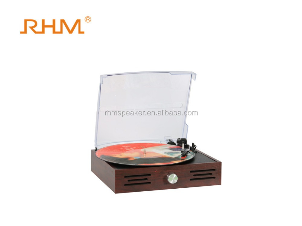 DJ Turntable Player Suitcase Modern Gramophone Player With USB recording to PC
