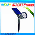New Version 200 Lumens Solar Wall Lights Bright Solar spotlight with stake and wall-mounted funtion