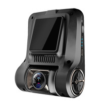Car DVR 2.45 Inch 1080p WiFi Hidden Dash Cam Dual Lens Driving Video Recorder