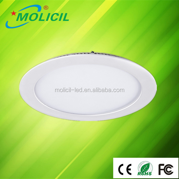 Ultra Thin Warm White LED Recessed Light Panel Lamp Ceiling Lights 12W