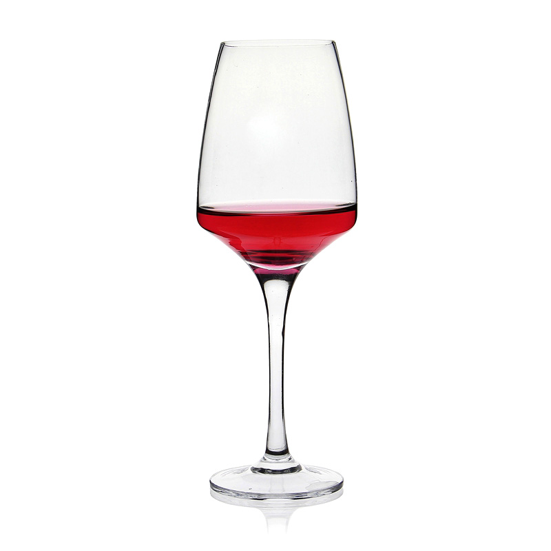 crystal pure stemware red or white wine glass