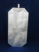silvery ink bag/durable ink spout pouch/spout pouch for ink