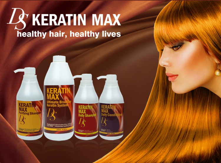 Hair treatment best dandruff keratin shampoo and conditioner set for repairing hair scalp
