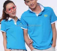 2014 newest custom badminton sports polo shirt for Coupleclothing